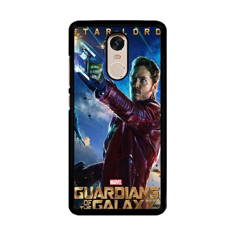 Flazzstore Guardians Of The Galaxy Star Lord Z0691 Custom Casing for Xiaomi Redmi Note 4 or Note 4X Snapdragon Mediatek