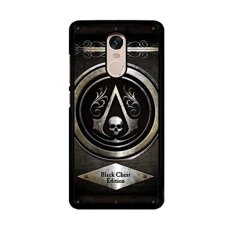 Flazzstore Assassins Creed Black Flag Logo Z0067 Custom Casing for Xiaomi Redmi Note 4 or Xiaomi Redmi Note 4X