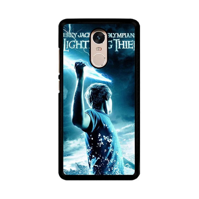 Flazzstore Percy Jackson Olympians Z0272 Custom Casing for Xiaomi Redmi Note 4 or Note 4X Snapdragon Mediatek