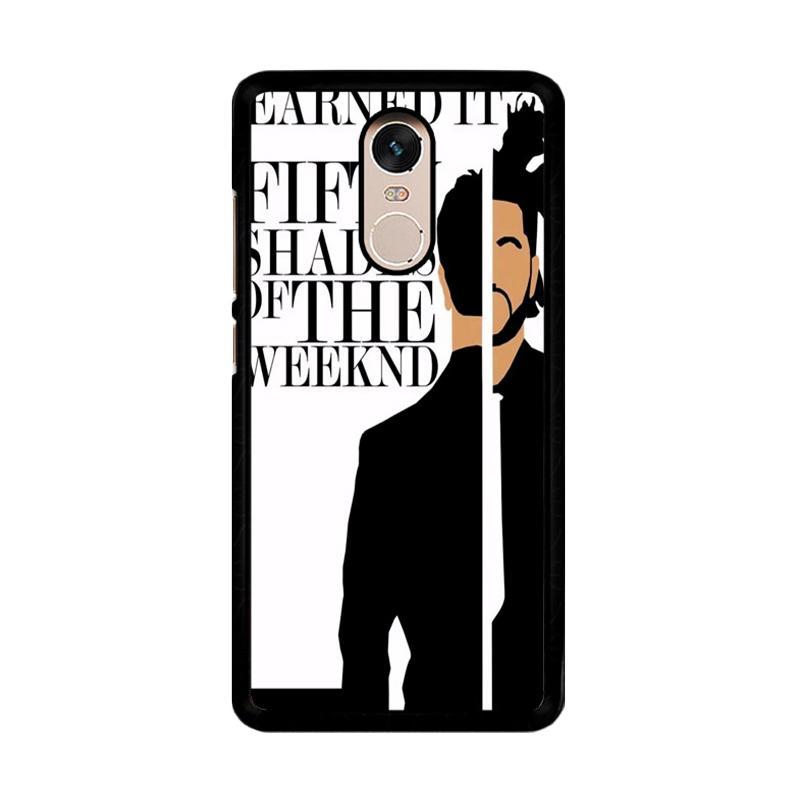 Flazzstore Weeknd Earned It Z0450 Custom Casing for Xiaomi Redmi Note 4 or Note 4X Snapdragon Mediatek