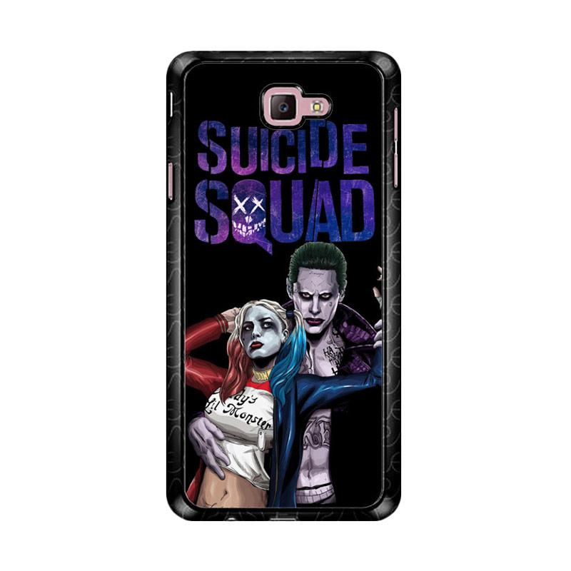 Flazzstore Suicide Squad Joker  Harley Vector Z3886 Custom Casing for Samsung Galaxy J7 Prime