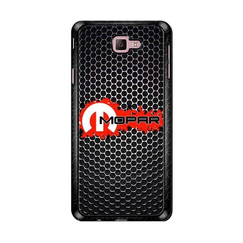 Flazzstore Mopar Black Logo Z4067 Custom Casing for Samsung Galaxy J7 Prime