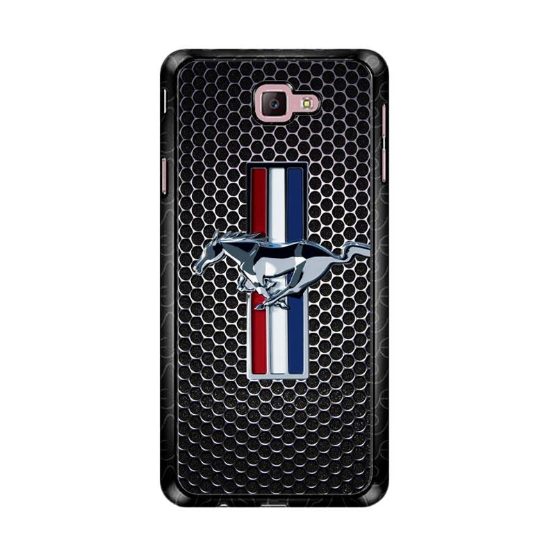 Flazzstore Ford Mustang Carbon Fiber Z4267 Custom Casing for Samsung Galaxy J7 Prime