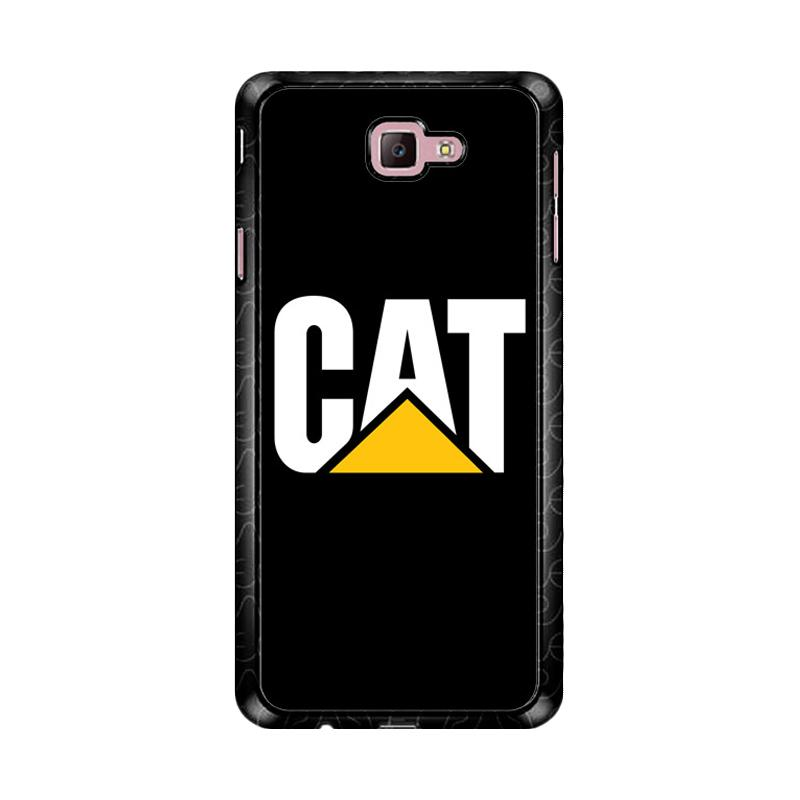 Flazzstore Caterpillar Logo Black Z4462 Custom Casing for Samsung Galaxy J7 Prime