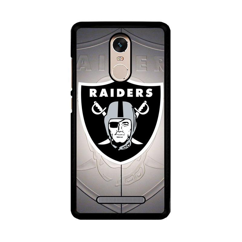 Flazzstore Oakland Raiders Z3261 Custom Casing for Xiaomi Redmi Note 3 or Note 3 Pro