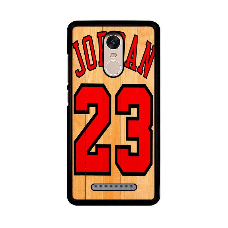 Flazzstore Michael Jordan 23 Wood Z4258 Custom Casing for Xiaomi Redmi Note 3 or Note 3 Pro