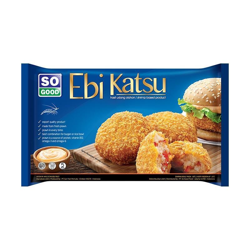 So Good Ebi Katsu Makanan Instan