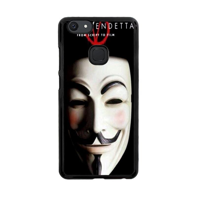 Flazzstore Guy Fawkes Mask V For Vendetta Z0192 Custom Casing for Vivo V7
