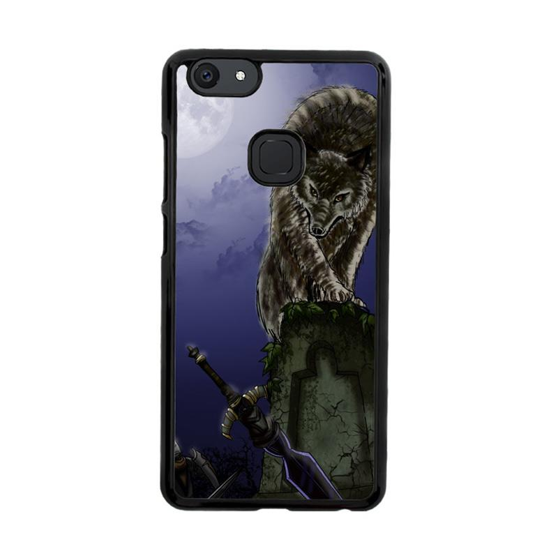 Flazzstore Great Grey Wolf Sif Puppy Z0311 Custom Casing for Vivo V7