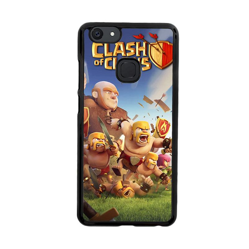 Flazzstore Clash Of Clans Mobile Games  Z0430 Custom Casing for Vivo V7