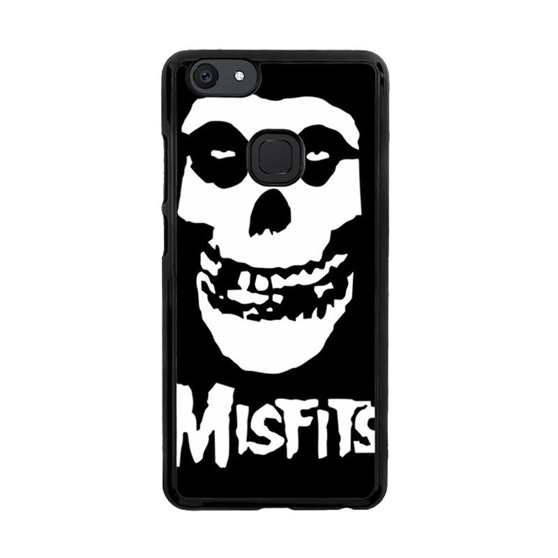 Flazzstore Horror Punk Rock Band Misfits Skull Z0506 Custom Casing for Vivo V7
