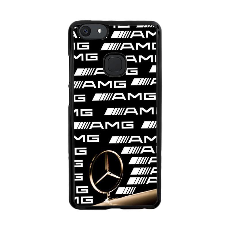 Flazzstore Mercedes Amg Car Logo X3262 Custom Casing for Vivo V7