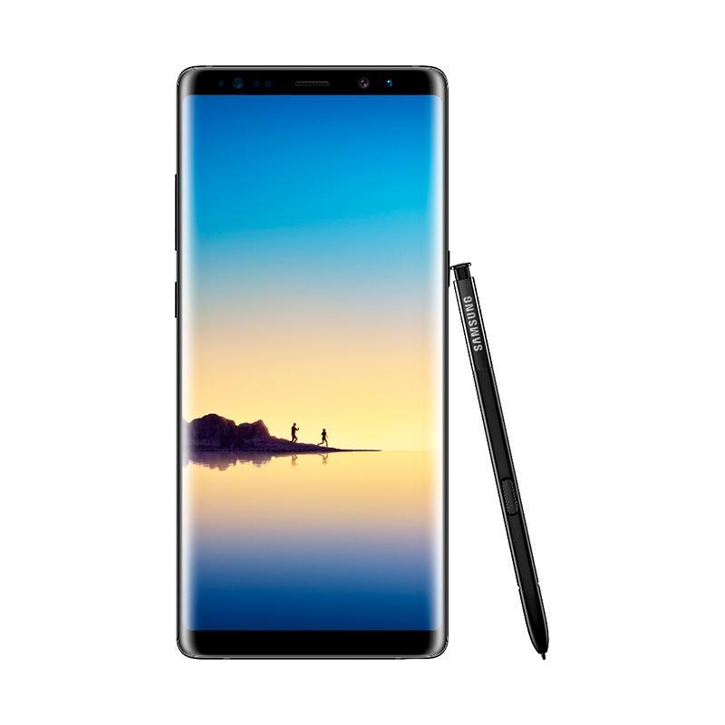Samsung Galaxy Note8 Smartphone - Midnight Black [64 GB/6 GB] + Free HARMAN AKG Wireless Speaker [New]