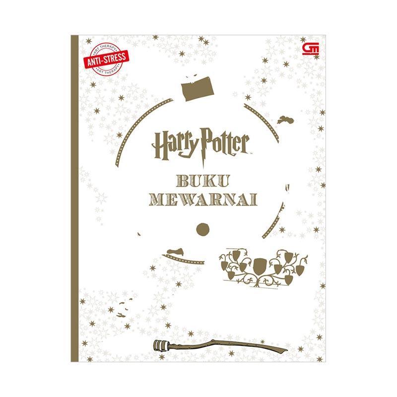 harga Gramedia Anti-Stress: Harry Potter Buku Mewarnai Blibli.com