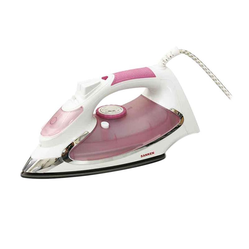 Sanken ASI-800PI Setrika Uap - Pink