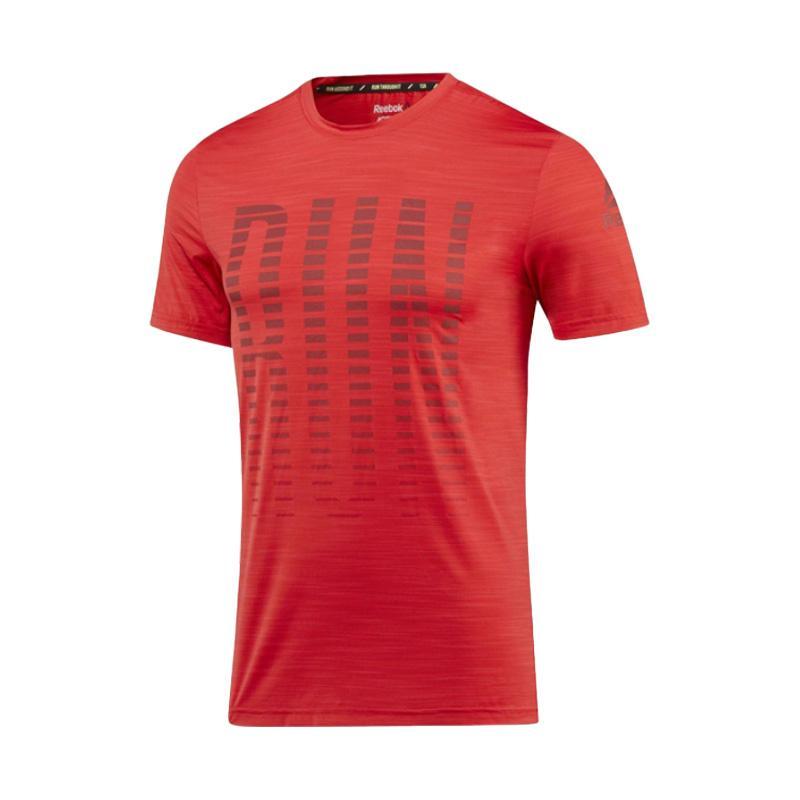 Reebok OSR SS Ac Men Tee Pakaian Olahraga Pria - Red [CF2250]