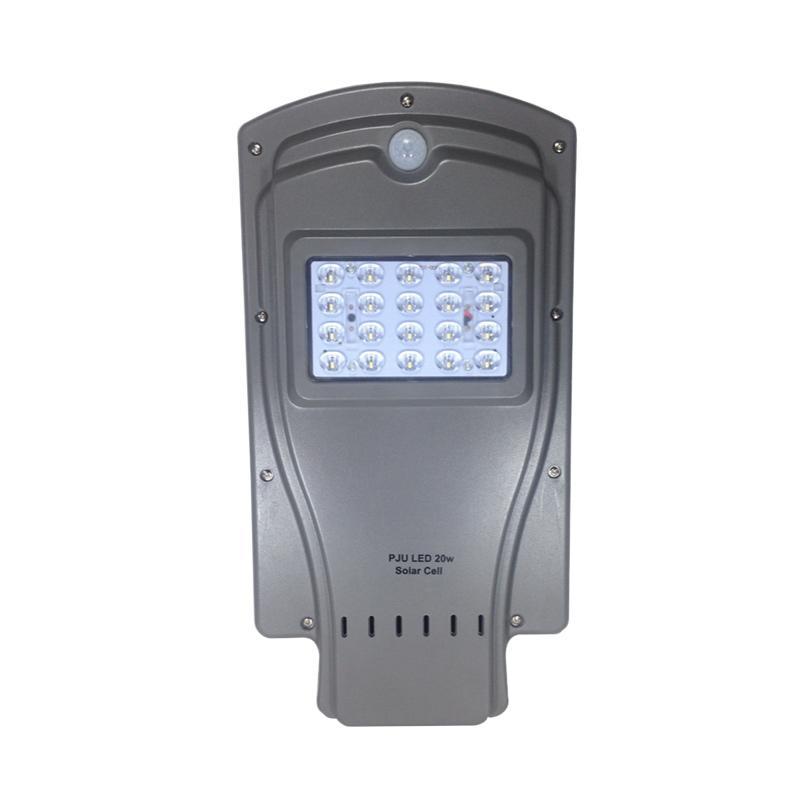 harga KEIBU Solar Cell Panel Surya Integrated Lampu PJU [20 Watt/20 LED] Blibli.com