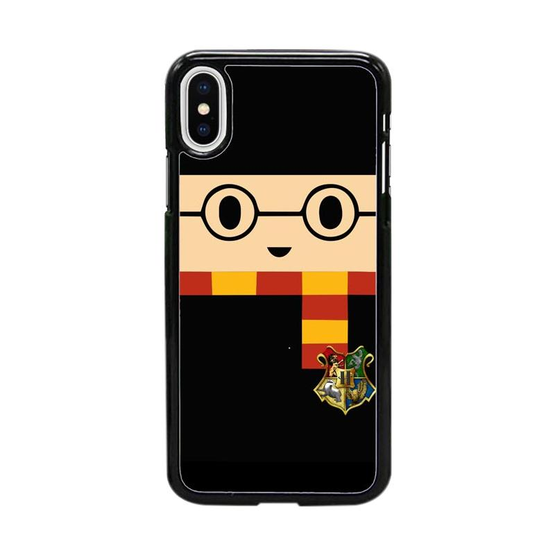 Acc Hp Harry Potter Face W5042 Custom Casing for iPhone X