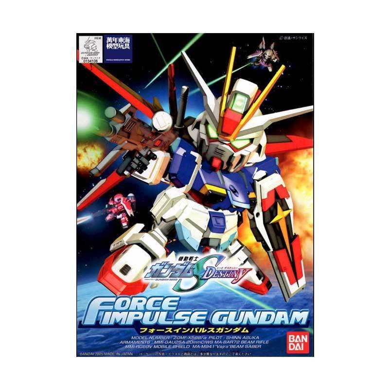 harga Bandai SD BB 280 ZGMF-X56S/?? Force Impulse Gundam Model Kit Blibli.com