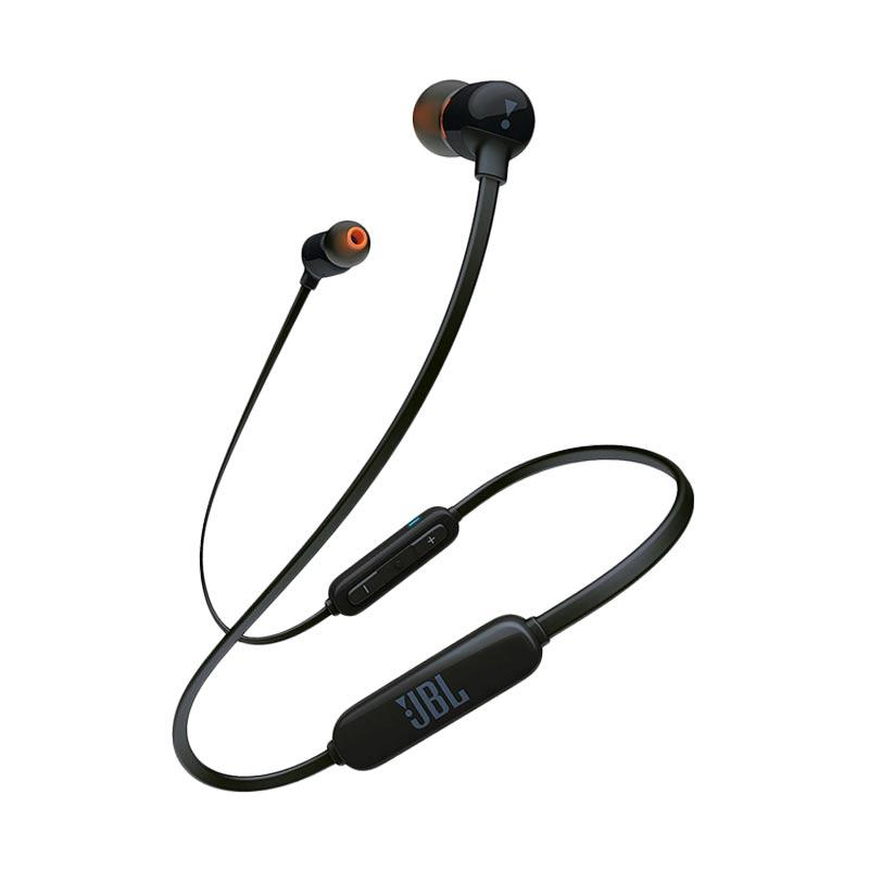 JBL T110BT Wireless In Ear Headphones with Three Button Remote and Microphone Black