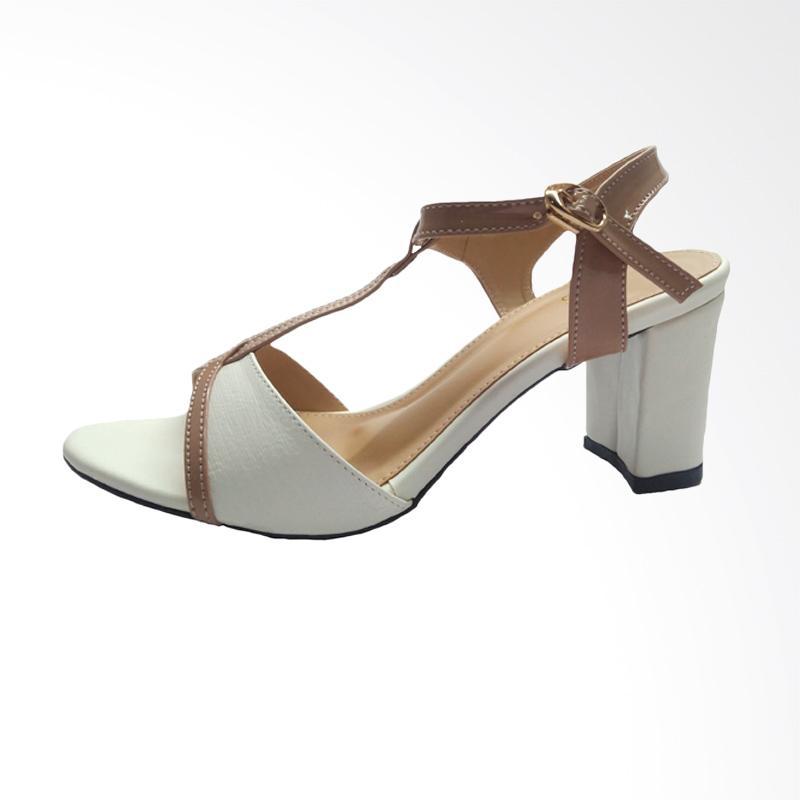 harga Fladeo CLDH251 High Heels Sepatu Wanita - White Blibli.com aecbef9701