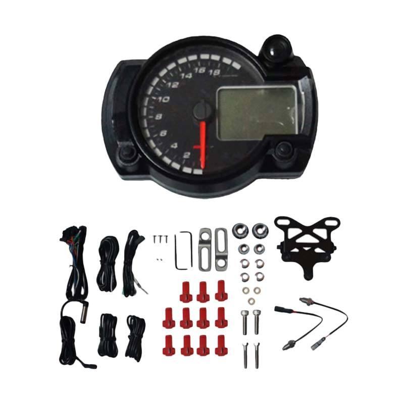 harga Koso RX2N+ Speedometer LED Digital Motor - Hitam Blibli.com