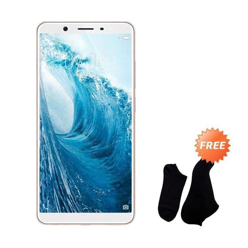 harga VIVO Y71 Smartphone - Gold [16 GB/ 2 GB] + Free Kaos Kaki 7 Pasang Blibli.com