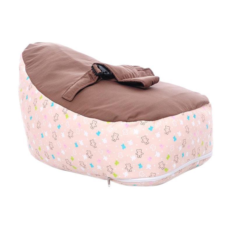 Jual Bylio Cute Baby Beanbag Sofa Dudukan Bayi - Brown Online - Harga & Kualitas Terjamin | Blibli.com