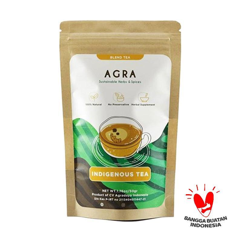 AGRA Indigenous Tea Kemasan Obat Herbal 50 g