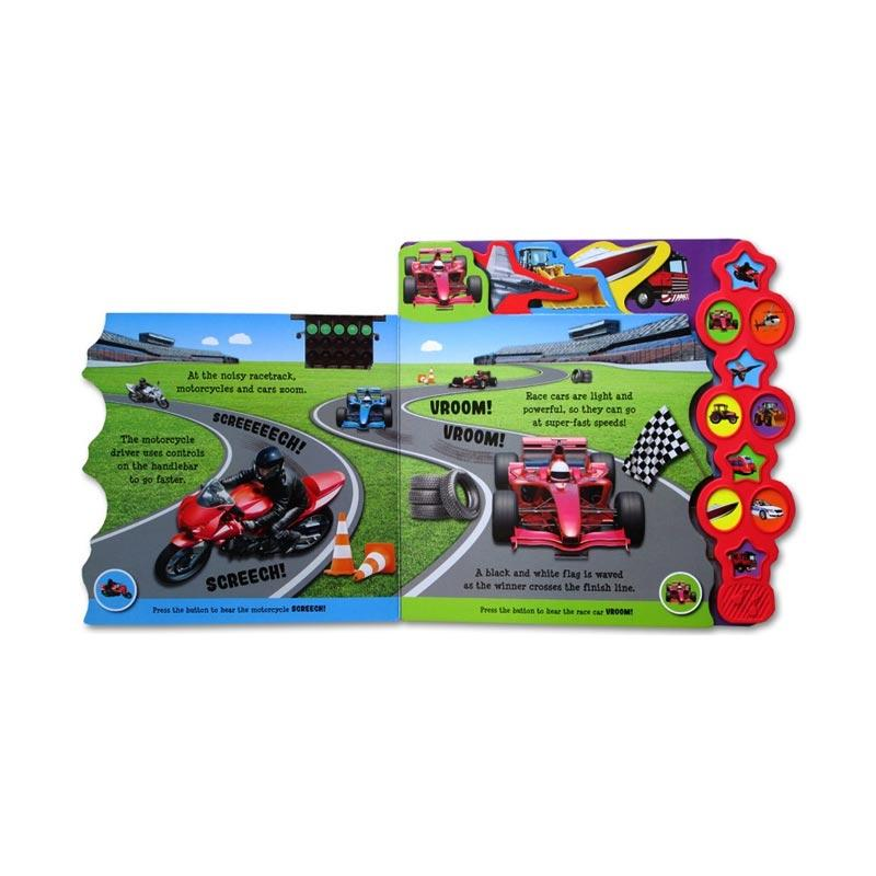 Cars To Go >> Jual Igloobook Things That Go Tabbed Sound Board Book With