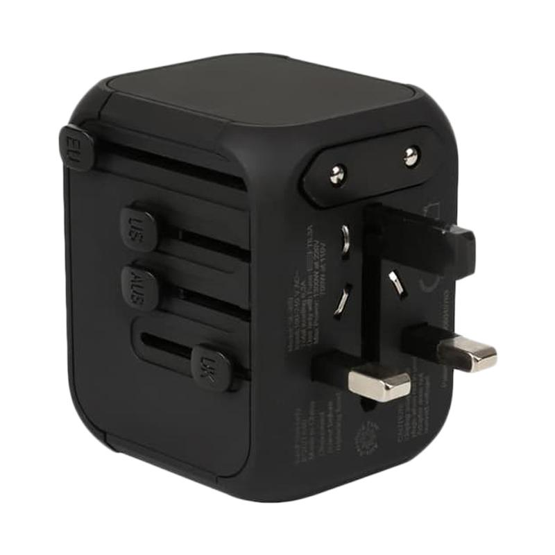 Universal Dual USB CLA Mount with 5 Inch Sirius XM 5 volt USB Power Adapters