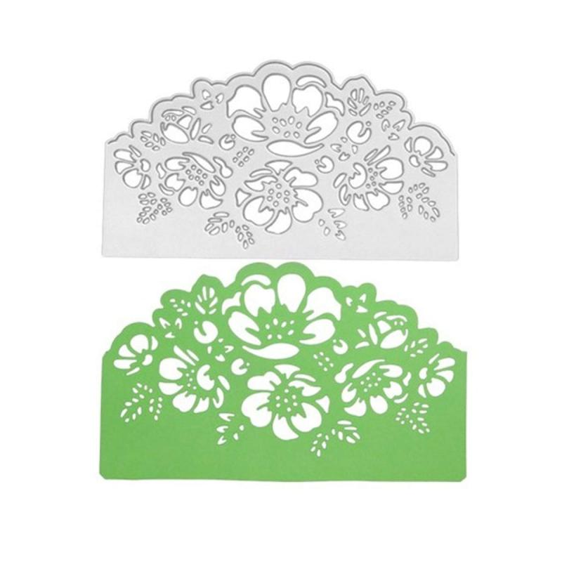 Lace Metal Cutting Dies Stencil DIY Scrapbooking Embossing Paper Card Craft