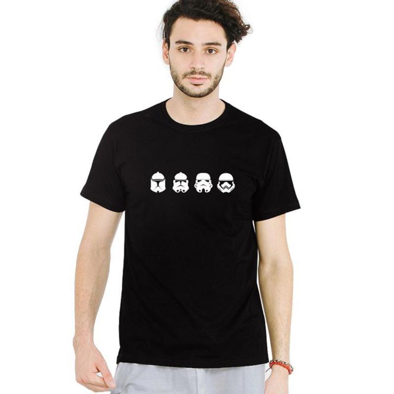 IndoClothing Kaos Star Wars Trooper Evolution T Shirt Unisex