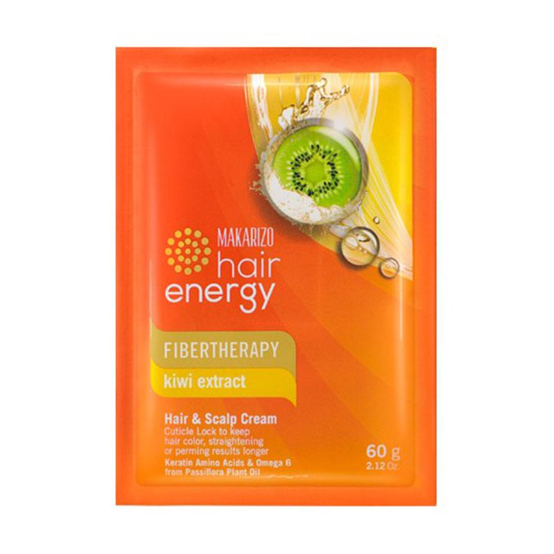 Jual Makarizo Hair Energy Fibertherapy Hair Scalp Creambath Kiwi 60 G Online Maret 2021 Blibli