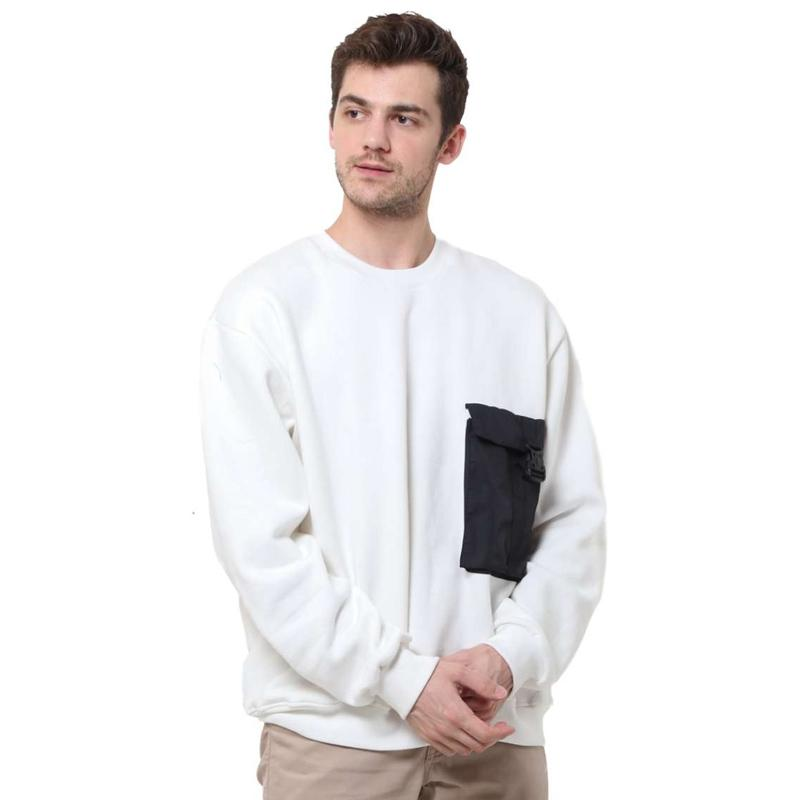 Tendencies Cargo Pocket Sweater Pria