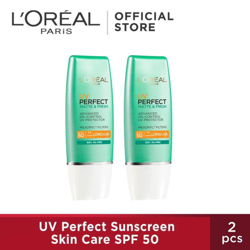 L Oreal UV Perfect Matte Fresh Twin Pack 2pcs