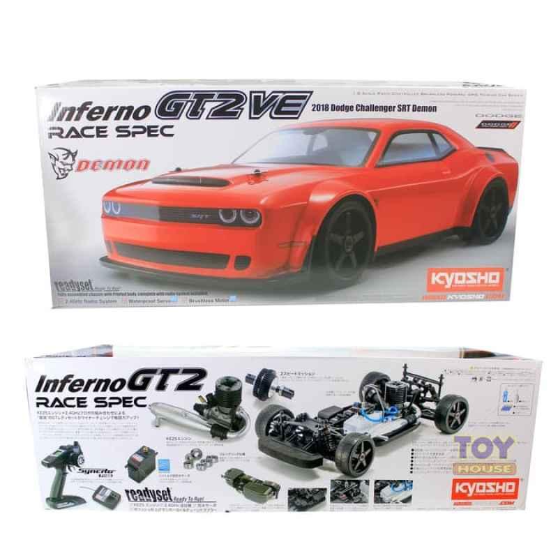 Jual Rc Kyosho Inferno Gt2 Race Spec 2018 Dodge Challenger Srt Demon W Kt Online Februari 2021 Blibli