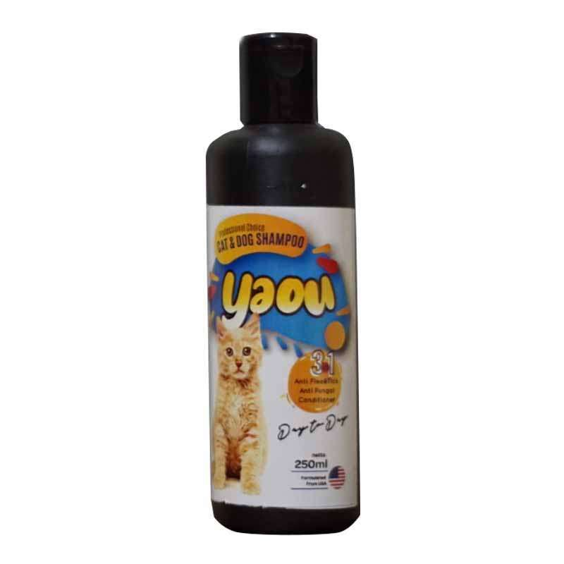 YAOU Shampoo Anti Kutu Anjing Kucing 250ML Wangi Shampo kucing