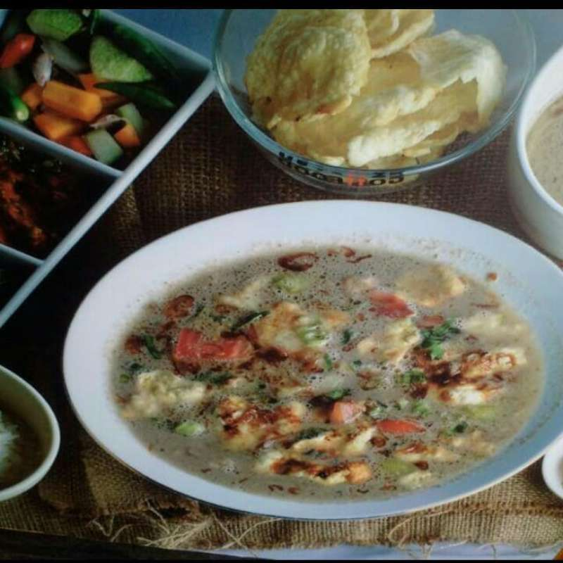 Soto Betawi Daging Roxy Darwasa