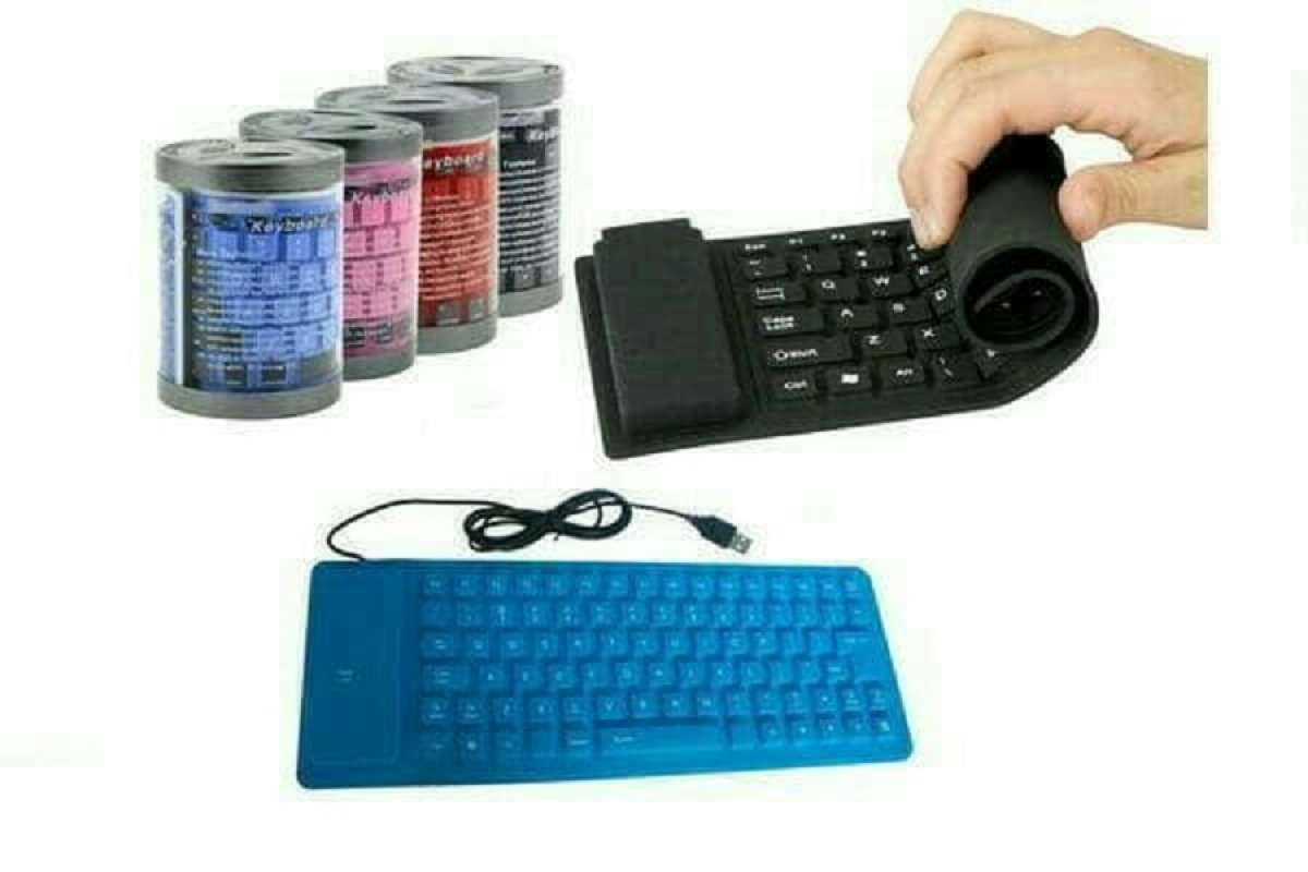 Jual Keyboard Flexible Usb Keyboard Usb Flexible Keyboard Laptop Hitam Online Oktober 2020 Blibli Com