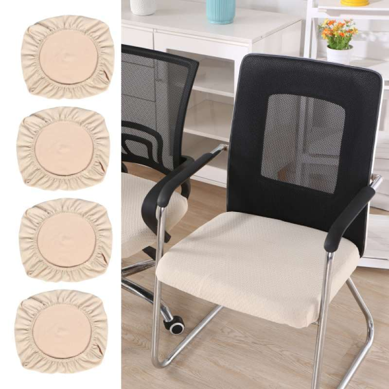 Jual 4xdining Chair Seat Covers Upholstered Kitchen Chair Seat Cushion Slipcover Online Oktober 2020 Blibli Com