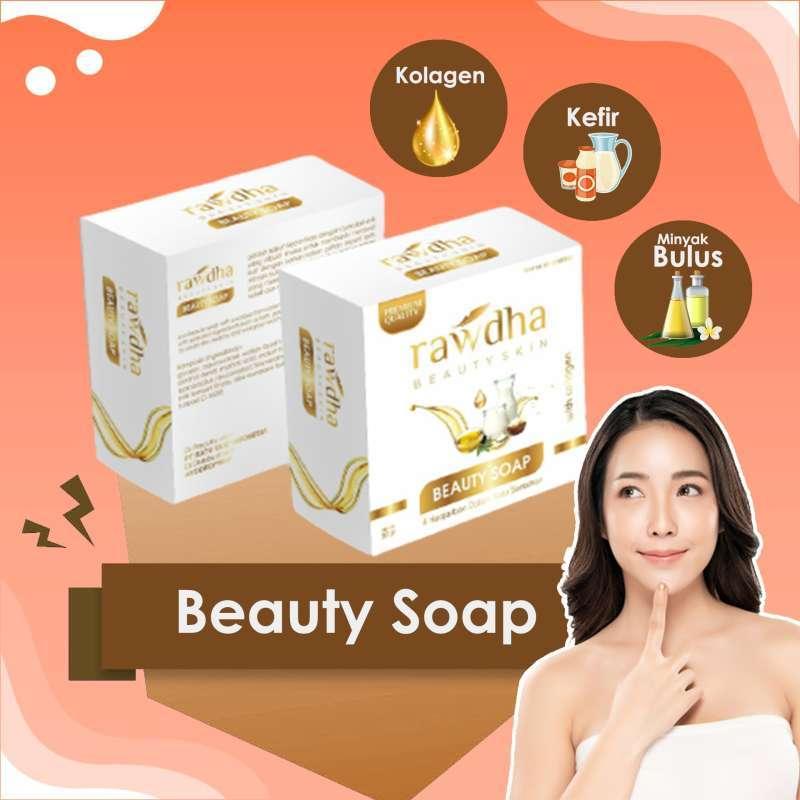 Jual Sabun Collagen Rawdha Isi 1 Pcs Sabun Siang Untuk Kulit Kering Sabun Collagen Yang Aman Dan Bpom Online April 2021 Blibli