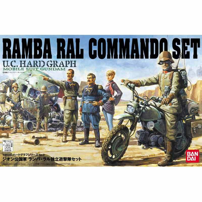 Bandai U.C.H.G. Zeon Ramba Ral Commando Set Model Kit