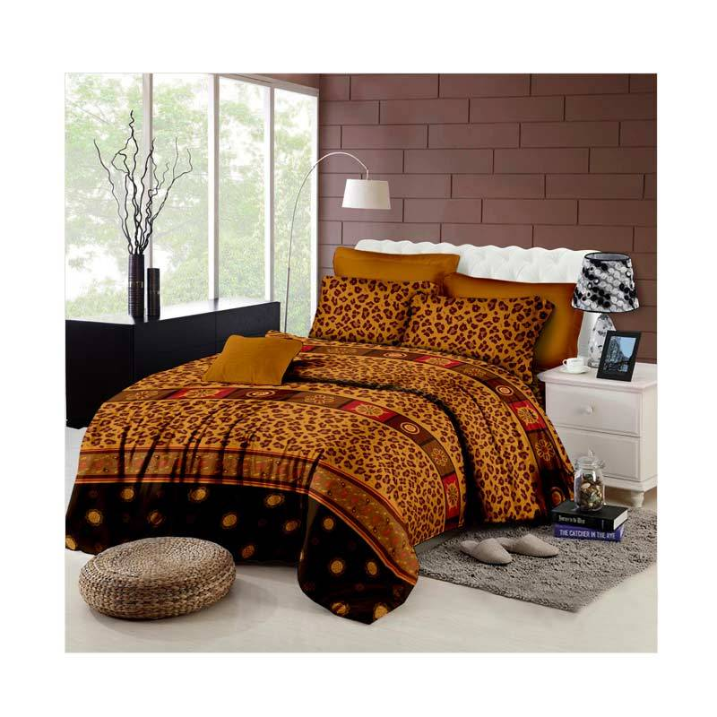 Khawla Disperse Leopard Set Sprei