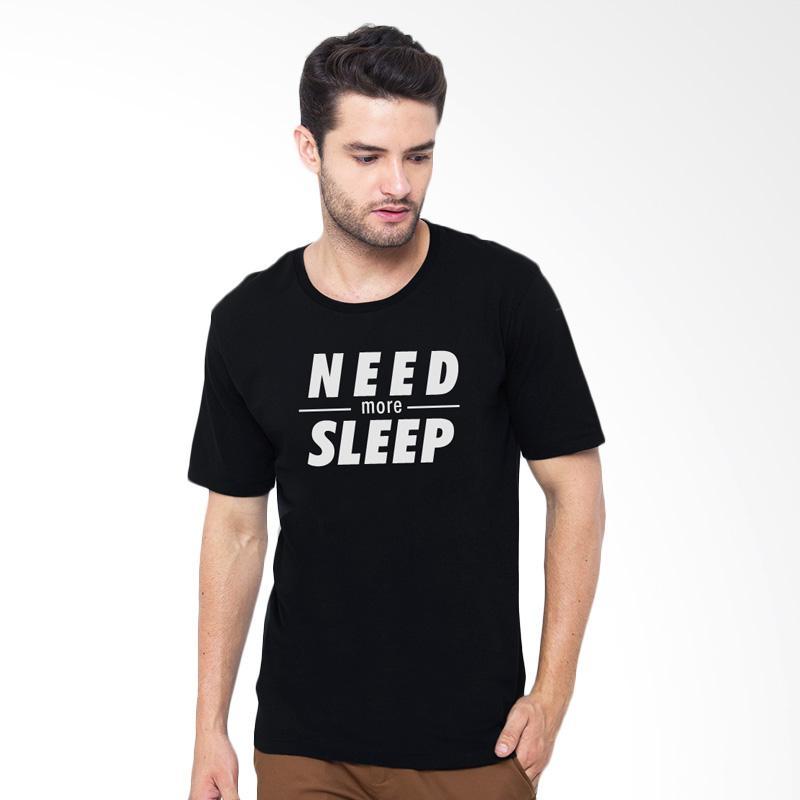 Artcology Need More Sleep T-Shirt - Black Extra diskon 7% setiap hari Citibank – lebih hemat 10% Extra diskon 5% setiap hari