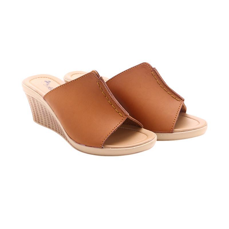 Dr Kevin 27315 Leather Sandals Sandal Wanita - Tan
