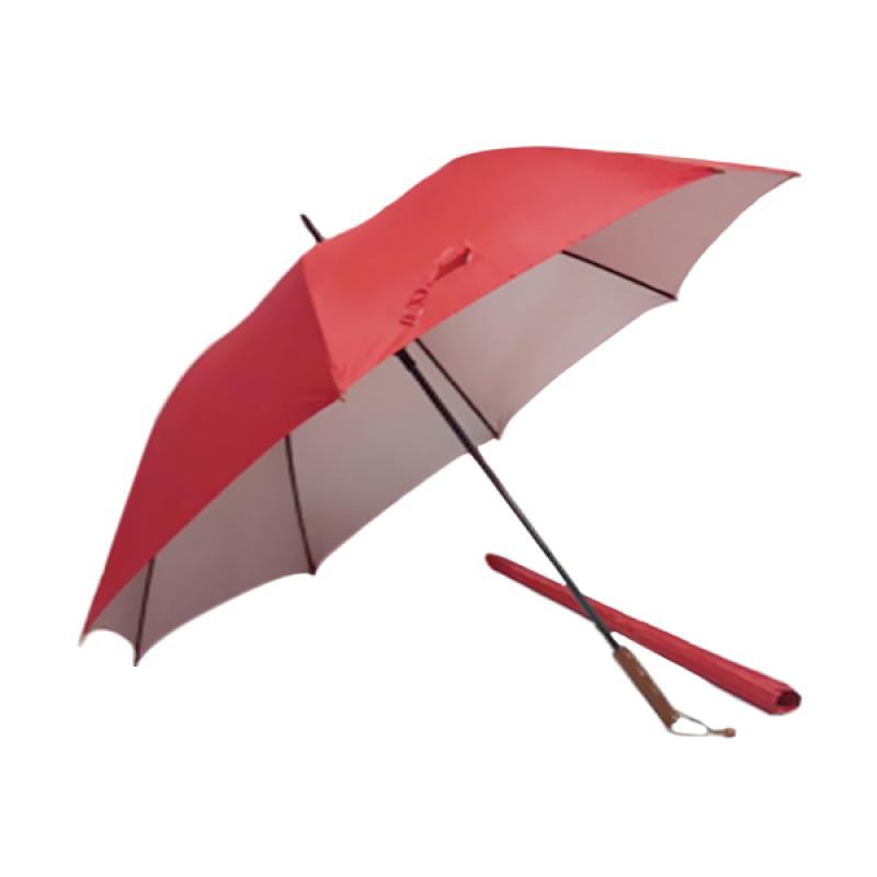 Edelweiss Golf Manual Open Payung - Merah