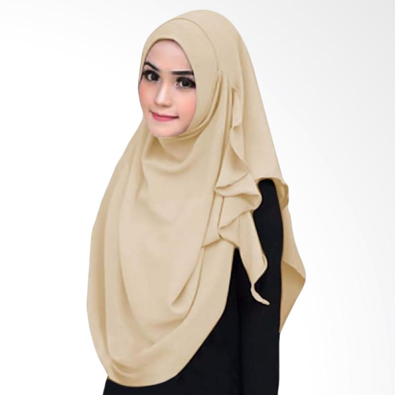 Kus Group Hijab Instant Flowing - Cream