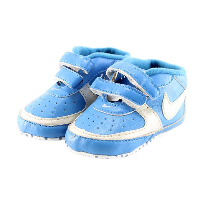 harga Mom n Bab Prewalker New Sepatu Bayi - Nike Blue Blibli.com