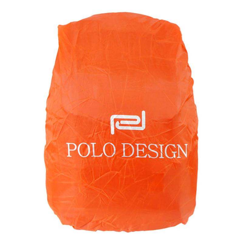 Polo Design Rain Cover Backpack Tas Pria QH 95001G - Blue